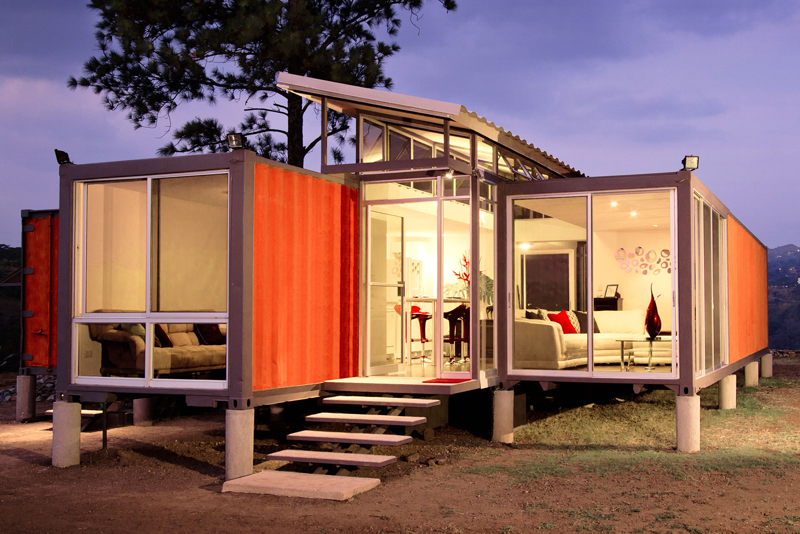 Modern Shipping Container Home shipping container homes