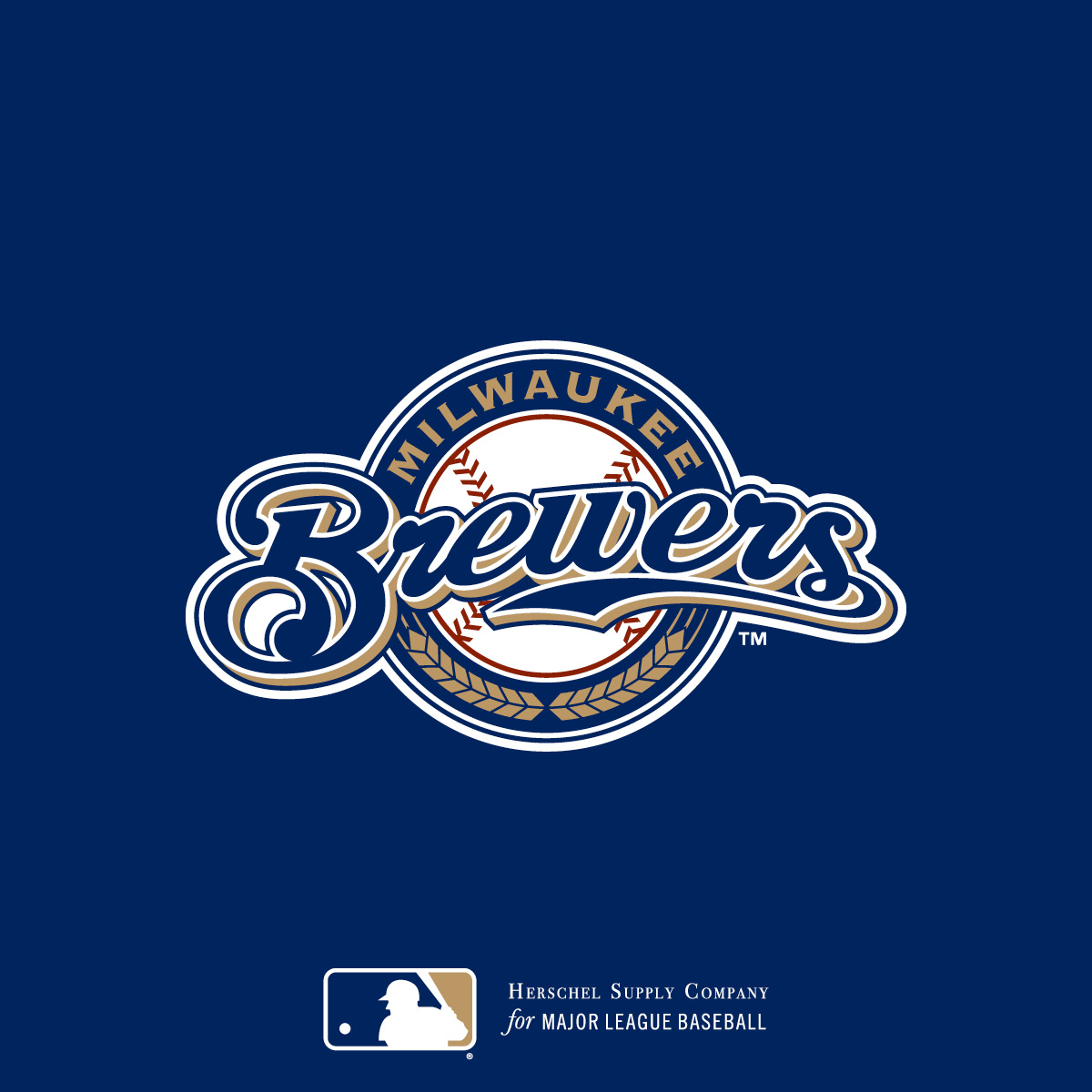purchase cheap af6e0 fb255 Milwaukee Brewers | Herschel Supply Co.