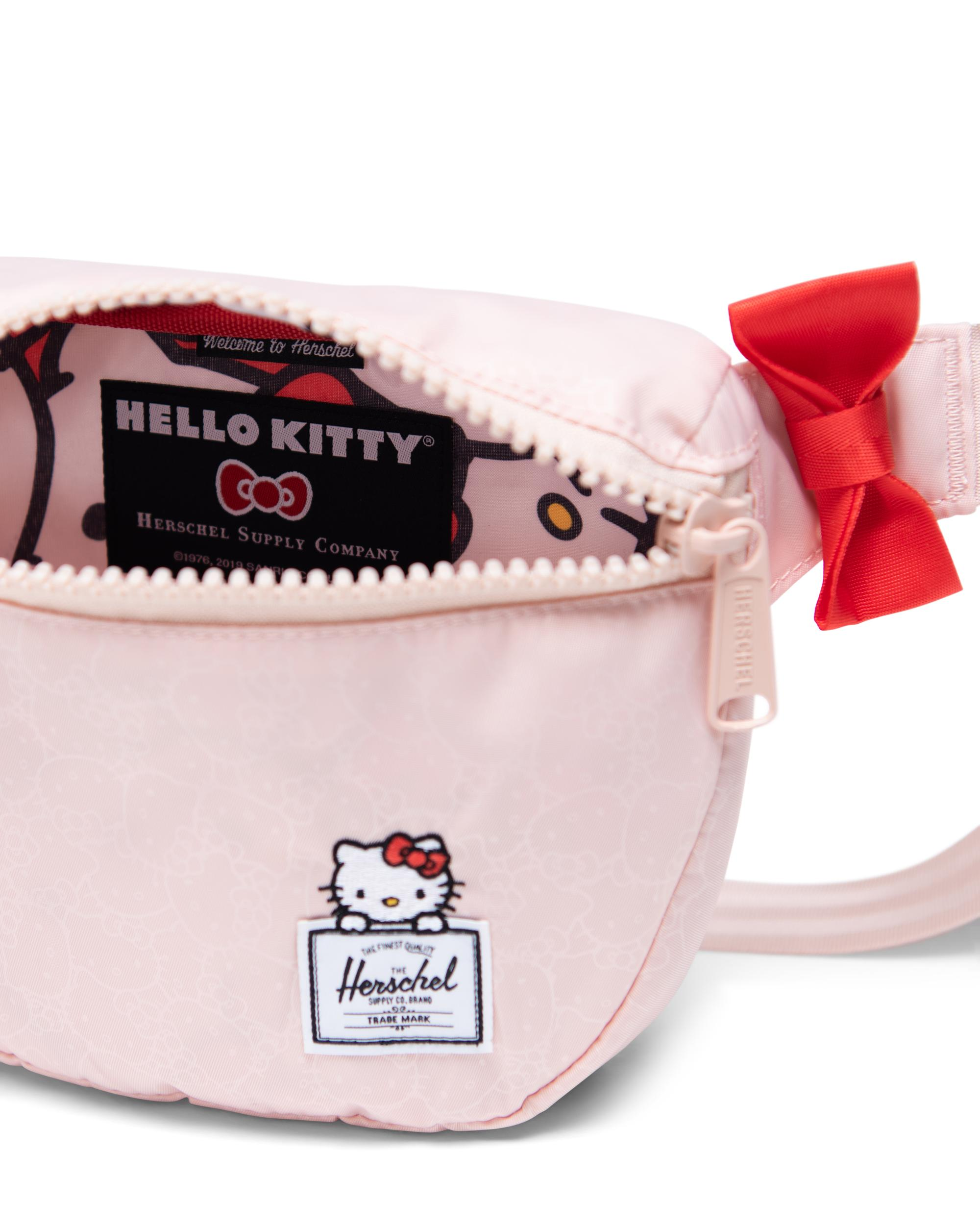 3c3141f40b4 ... Fabric liner with magnified Hello Kitty all-over print ...