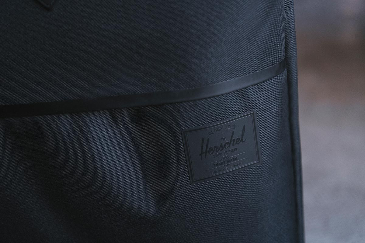 Tonal heat embossed classic label