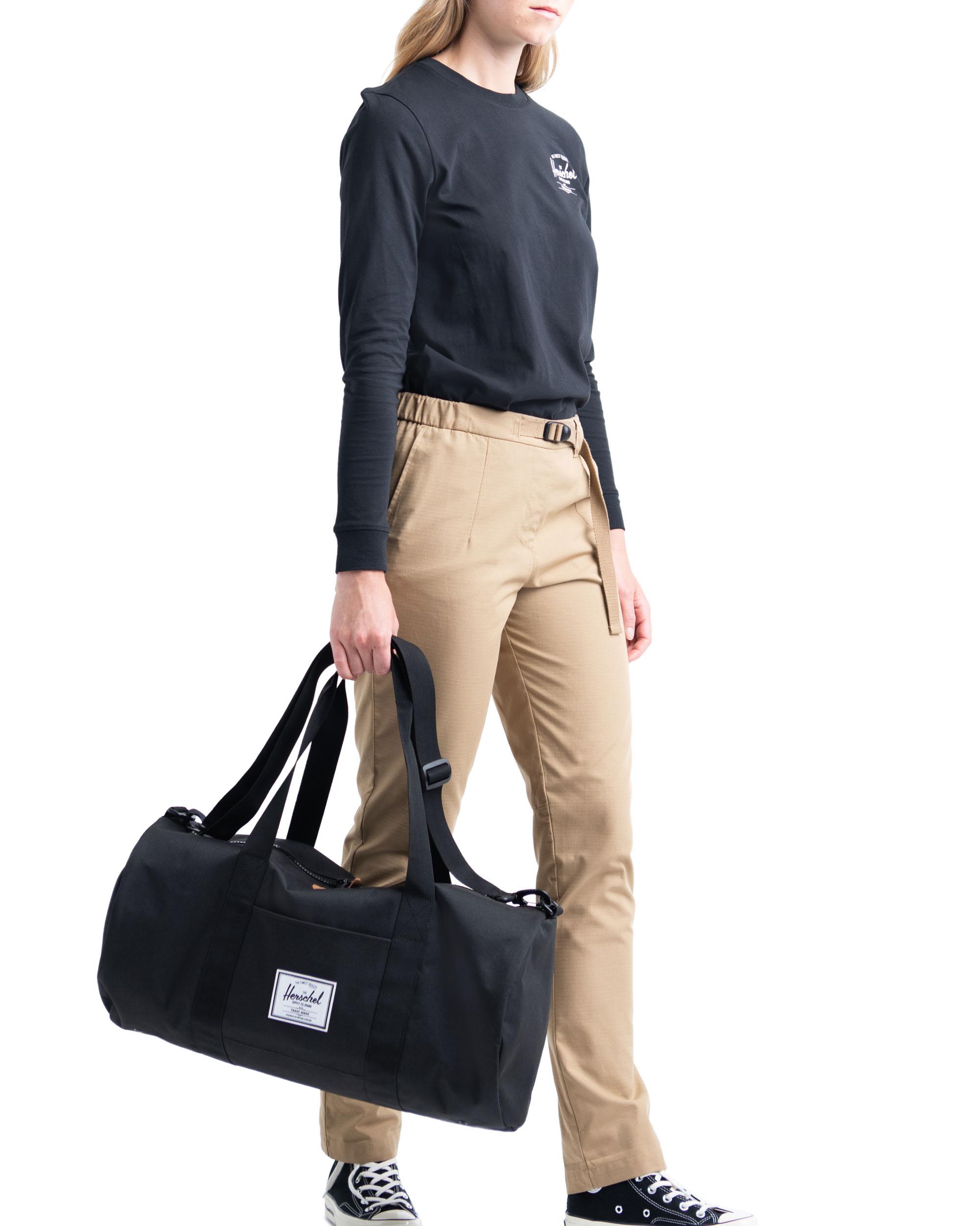 Herschel Supply Co Sutton Mid-Volume Duffle Bag Holdall Black