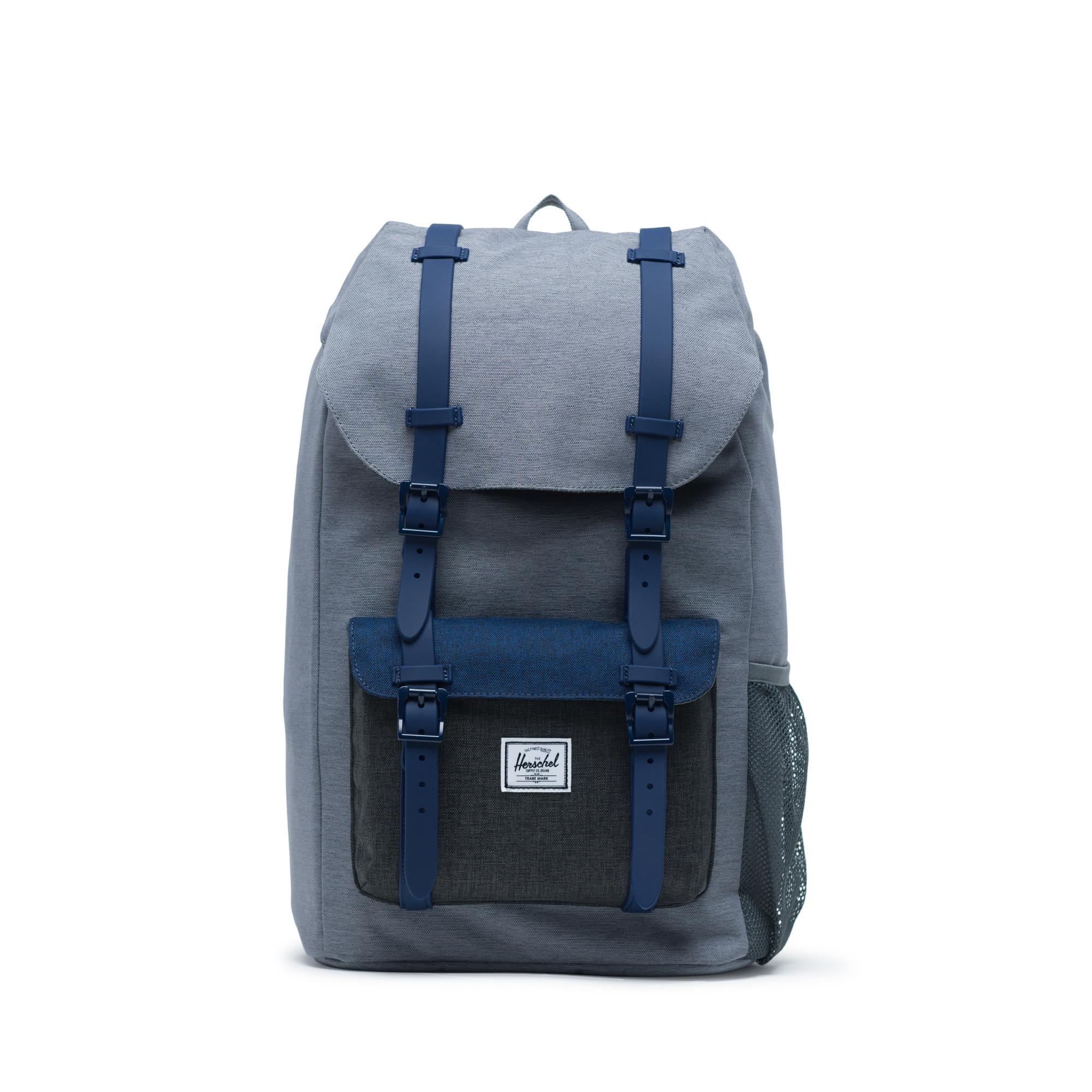 Herschel Kids Little America Flapover Backpack Medival Blue// Light Grey