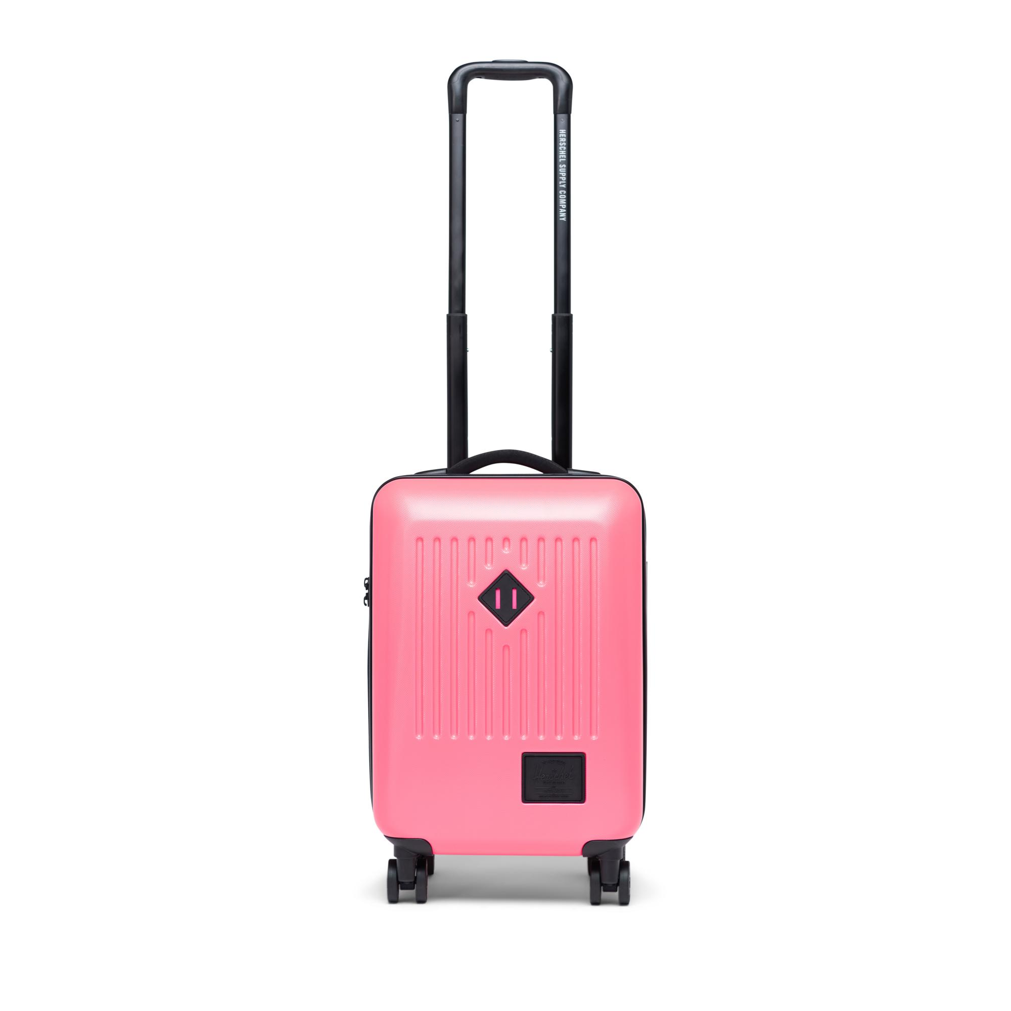 Rose-neon-colors Travel Carry-on Luggage Weekender Bag Overnight Tote Flight Duffel In Trolley Handle