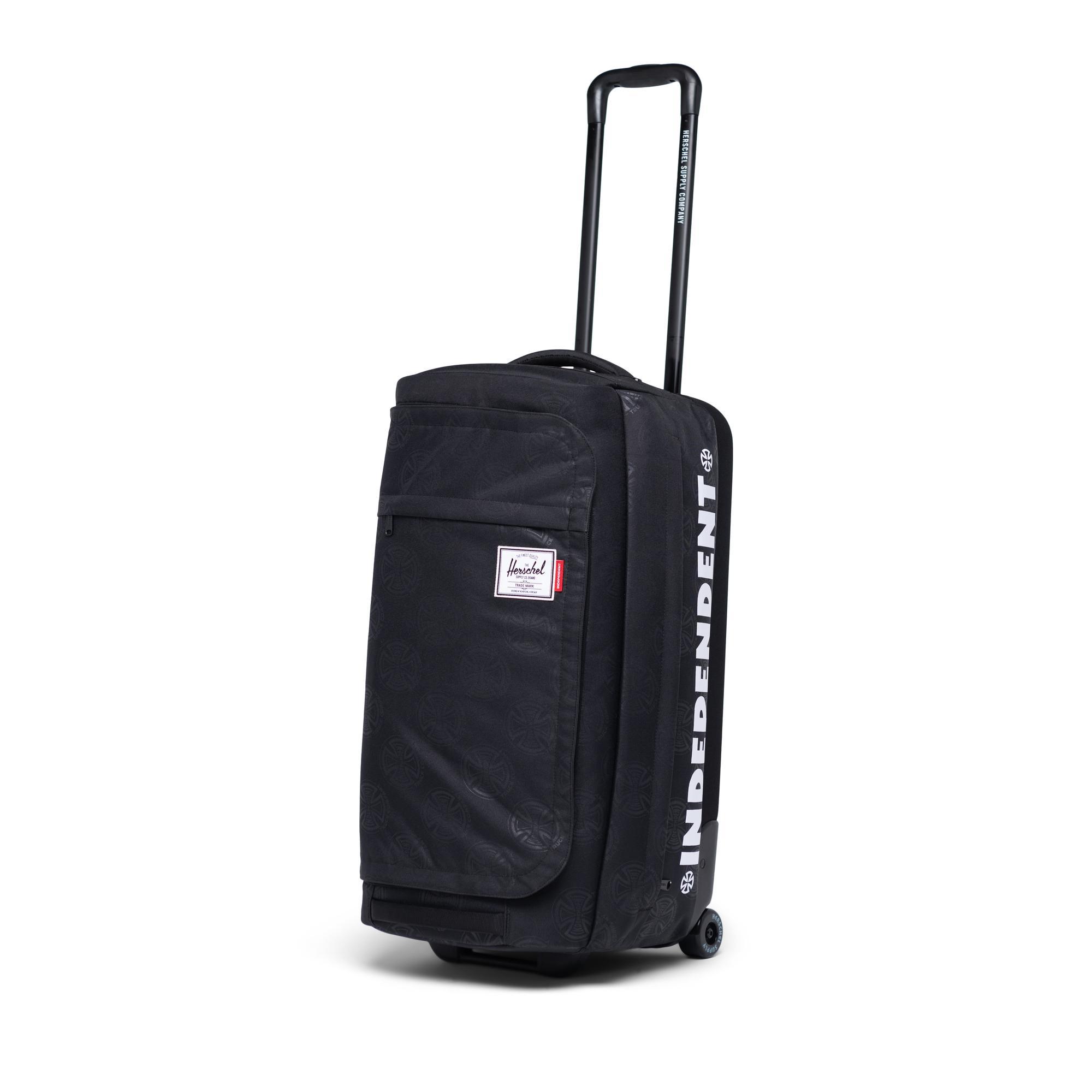 Black Crosshatch Herschel Wheelie Outfitter