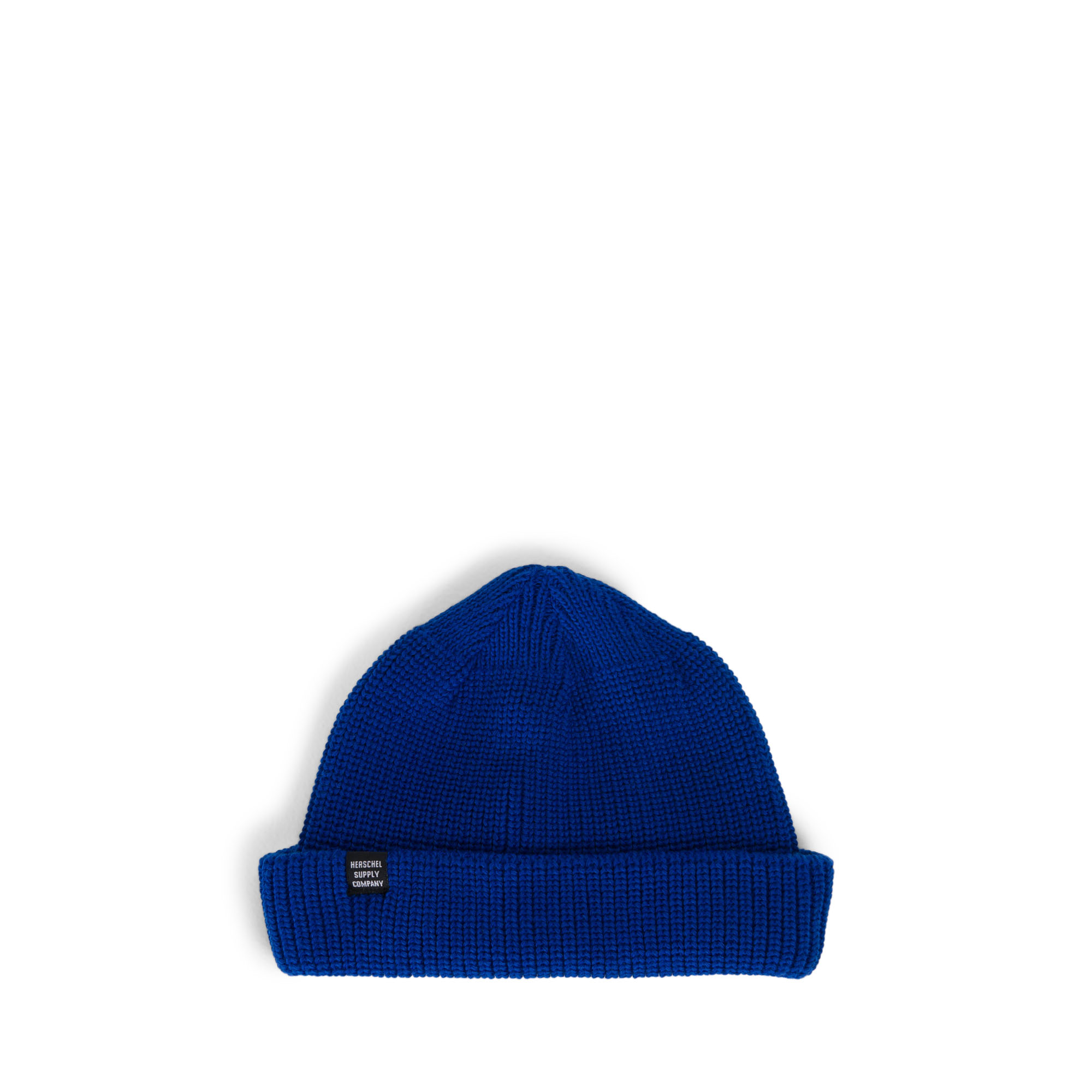 Herschel Knitted Buoy Low Profile Beanie Hat Black