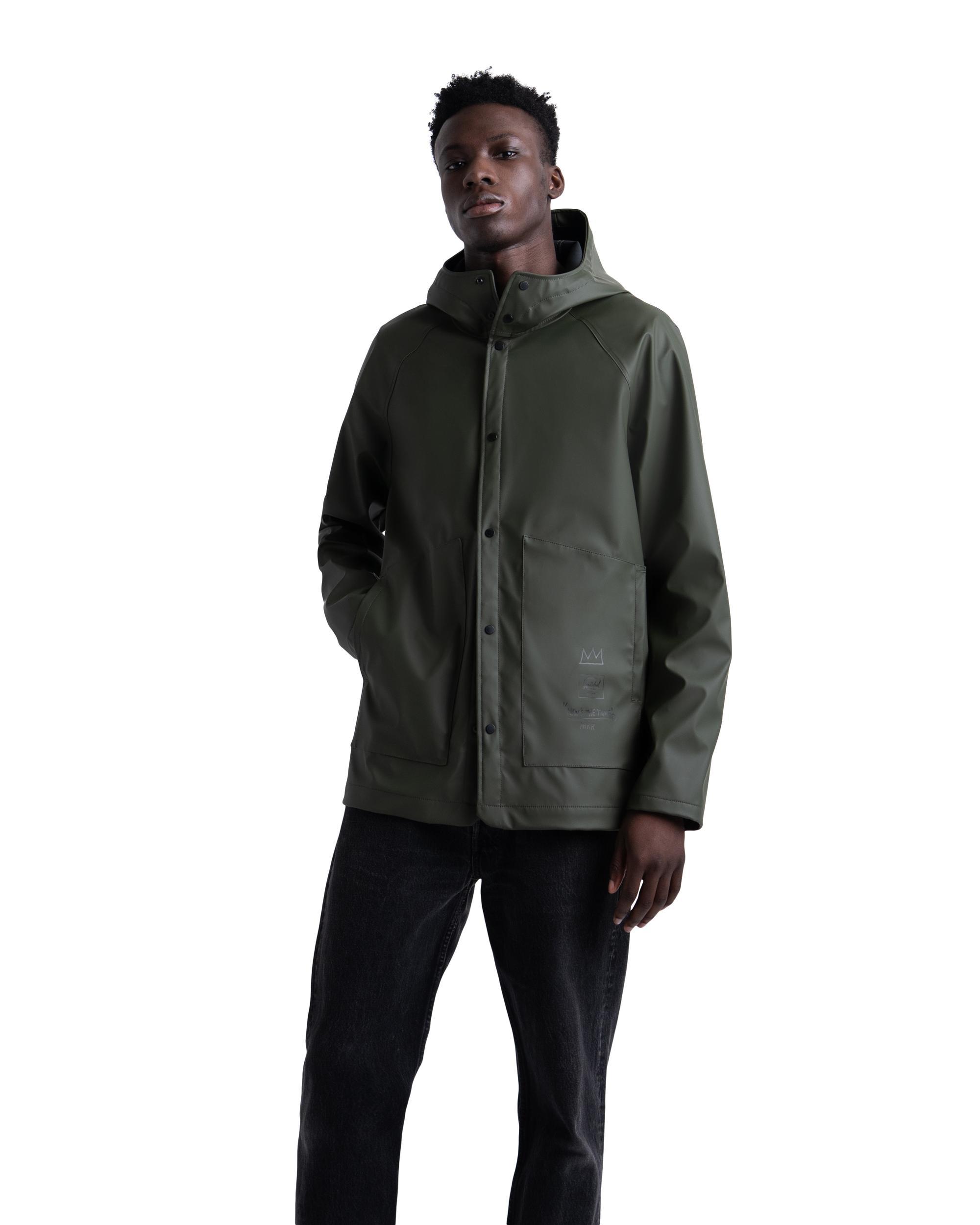 One Size Herschel Supply Co Black Mens Classic Umbrella