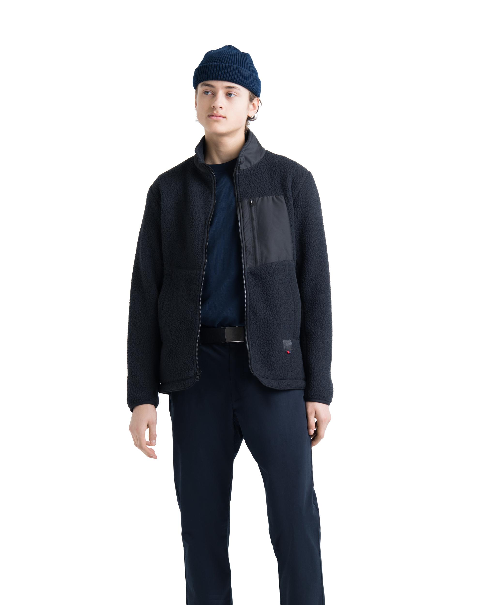 Sherpa Full Zip Jacket Mens   Herschel Supply Company