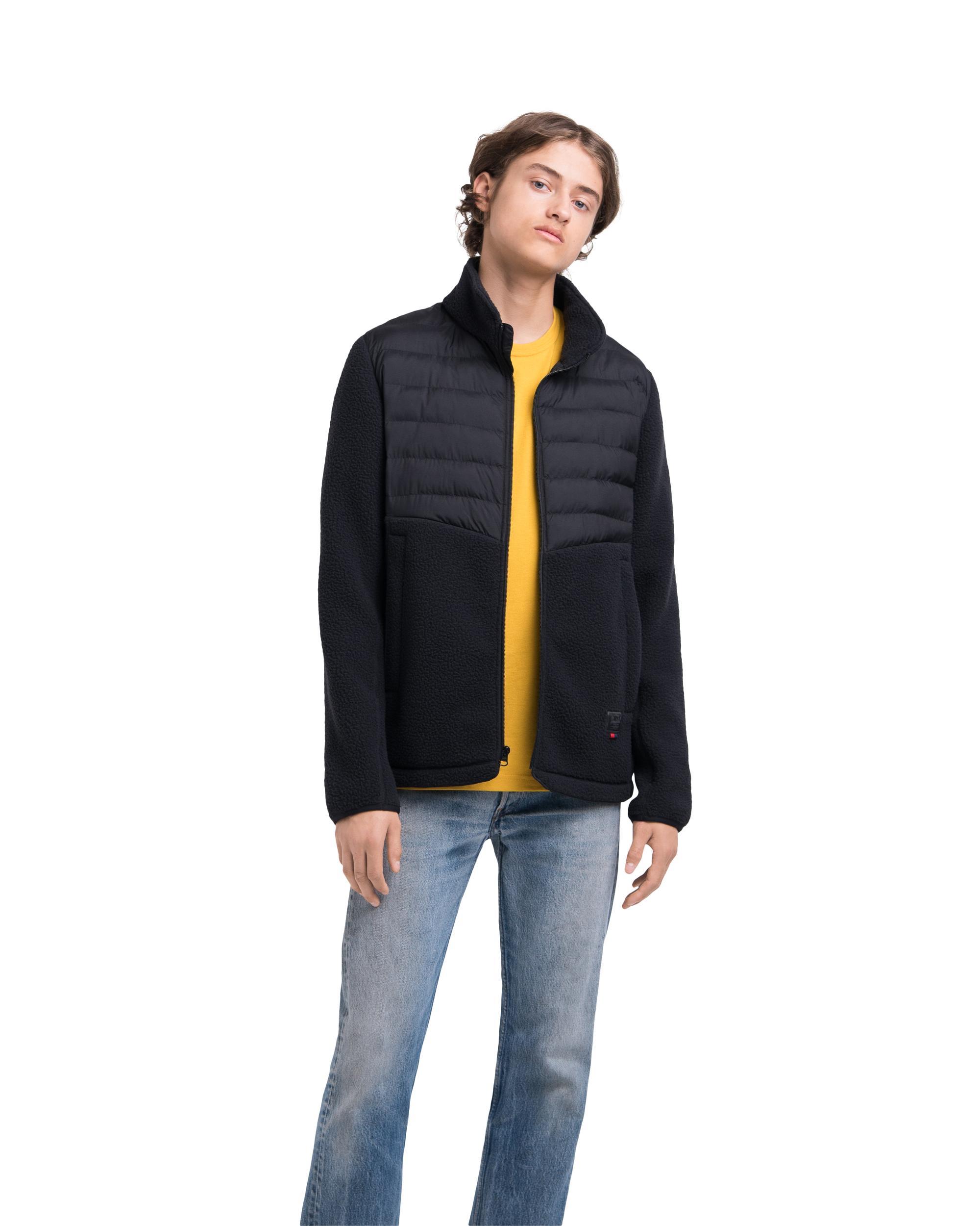 Hybrid Sherpa Full Zip Jacket Mens   Herschel Supply Company