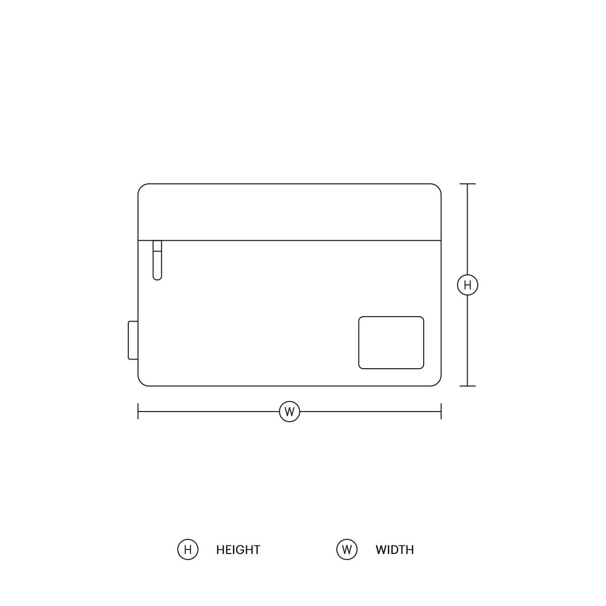 Guide des tailles de housses d'ordinateurs